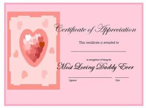 Best Daddy Award Certificate for that special Daddy Dom in your life.
