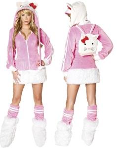 Hello Kitty Cosplay Costume
