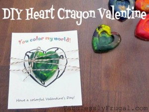 Get the how-to at http://fabulesslyfrugal.com/diy-9-homemade-valentine-ideas-for-kids/